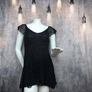 Urban Outfitters Kimchi Blue Black Dress Sz XS